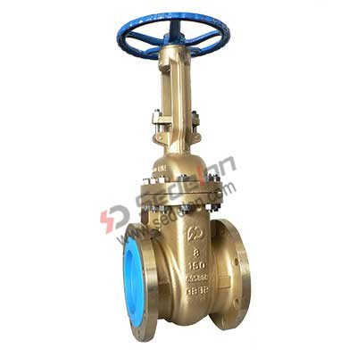Bronze flanged gate valve